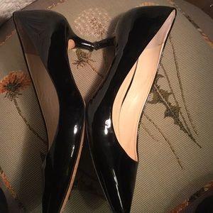 Black patent All Leather Vince Camuto Vero Cucio